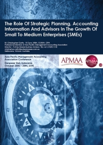 APMAA Strategic Planning Accounting & SMEs Cover